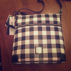 Dooney & Bourke crossbody bag, black, NWT